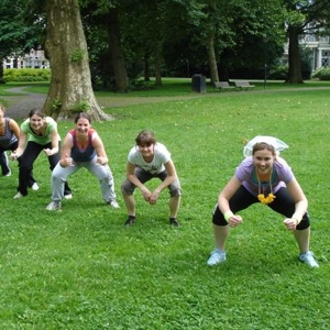 bootcamp voor bachelorette party