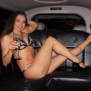 Limousine striptease in Amsterdam
